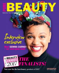 Pure beauty magazine cover