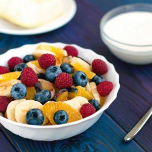 Fruit,Salad,With,Yoghurt
